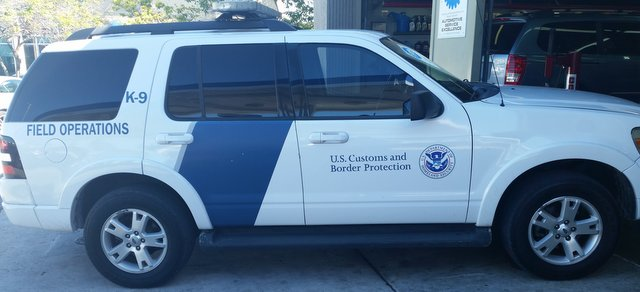 US customs and border patrol
