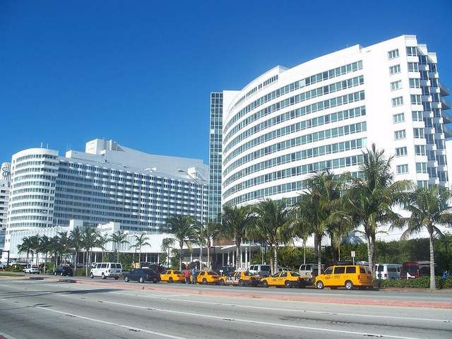 Miami lawyer for injury claims from accidents at the Miami Beach Fontainebleau Hilton hotel in Miami Beach, Florida