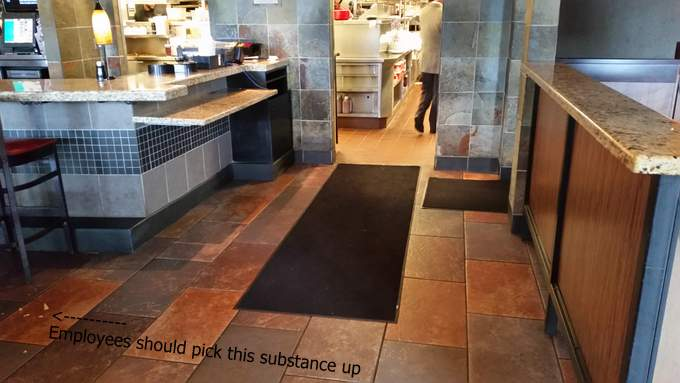 how to avoid slips and falls in the kitchen