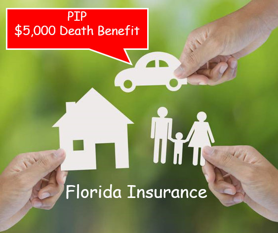5k pip death benefit florida auto crash