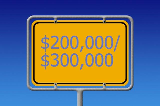 $200,000/$300,000 limit