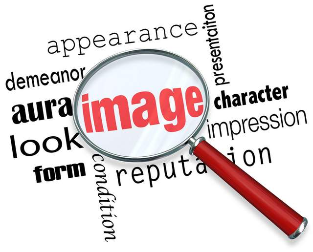 Image, appearance, character, impression, presentation, demeanor.