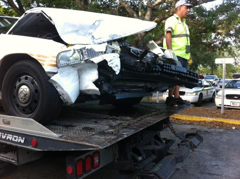 Car Damage Injury Accident Miami