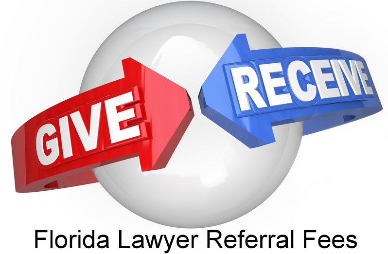 Can Florida lawyer pay referral fee to out of state or foreign lawyer in a Florida hotel injury case?