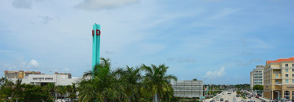 Dadeland Mall in Kendall, Miami-Dade County, Florida.