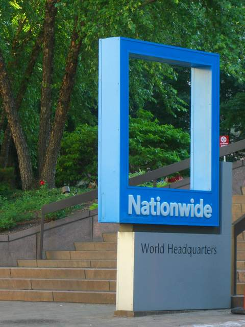 Natiowide sign outside of One Nationwide Plaza