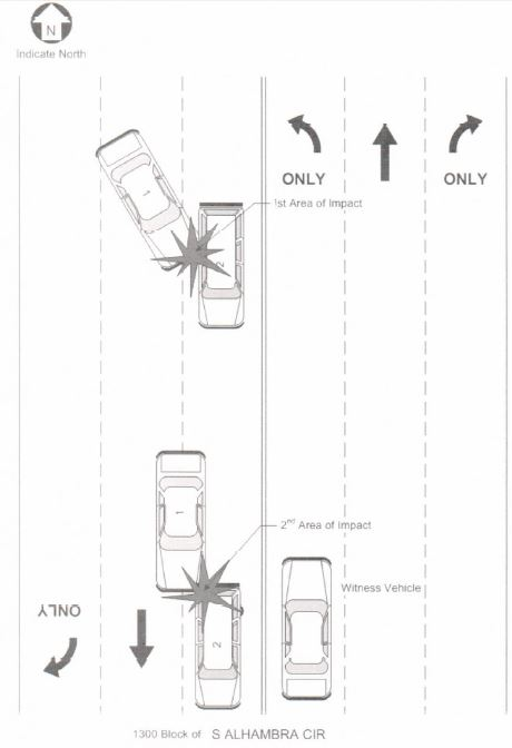 crash diagram