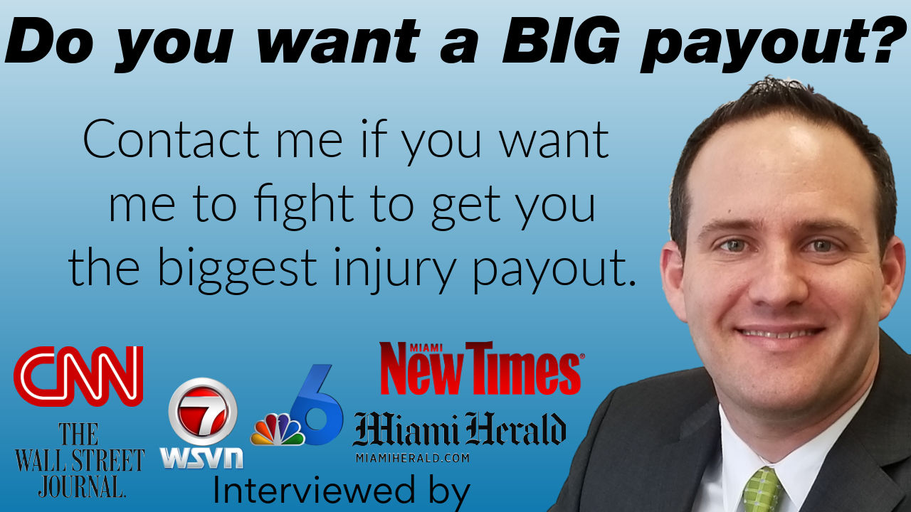 Contact Florida personal injury lawyer Justin Ziegler to fight to get you a big settlement